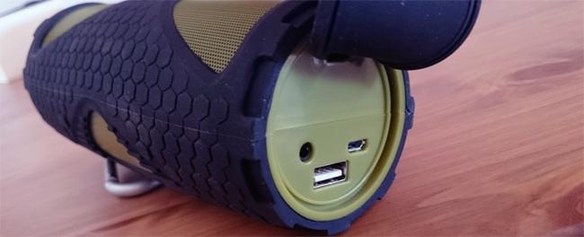 Enceinte Bluetooth résistante à l'eau