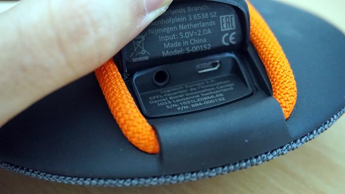 Connectique Jack 3.5mm et micro-USB