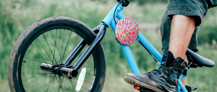 Enceinte pour vélo