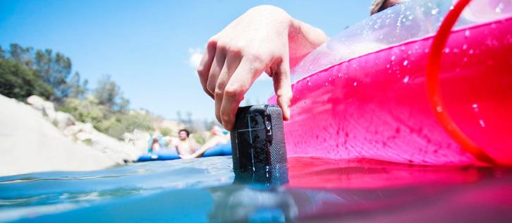 Enceinte sans fil waterproof